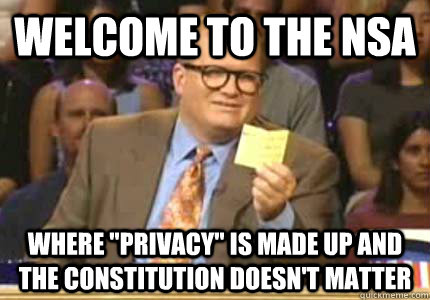 welcome to the nsa where