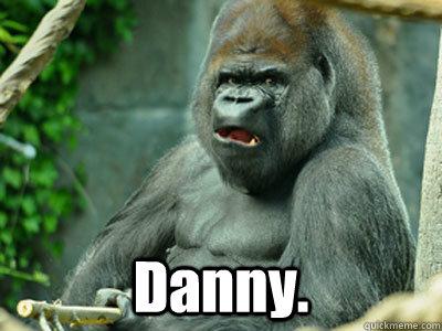 Danny.  Are You Serious Gorilla