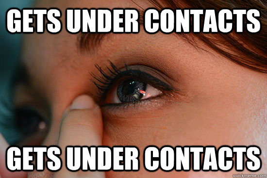 Gets under contacts gets under contacts  Scumbag Eyelashes