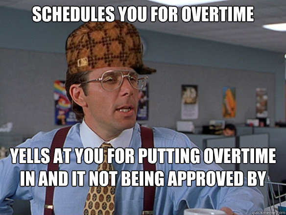 Memes About Overtime