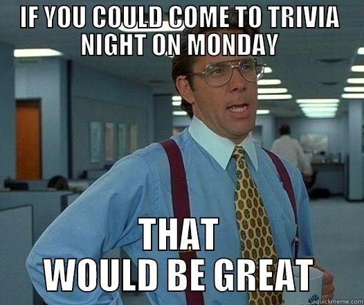 Trivia night - quickmeme