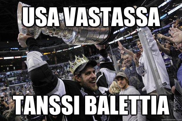 usa vastassa tanssi balettia  Hey Sharks fans