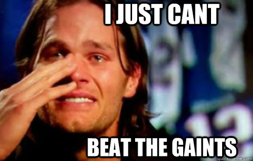 I Just Cant Beat the Gaints