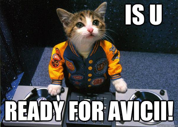 is U Ready for avicii!