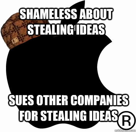 Shameless about stealing ideas sues other companies for stealing ideas