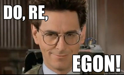 DO, RE, EGON! - DO, RE, EGON!  Non Sequitur Egon