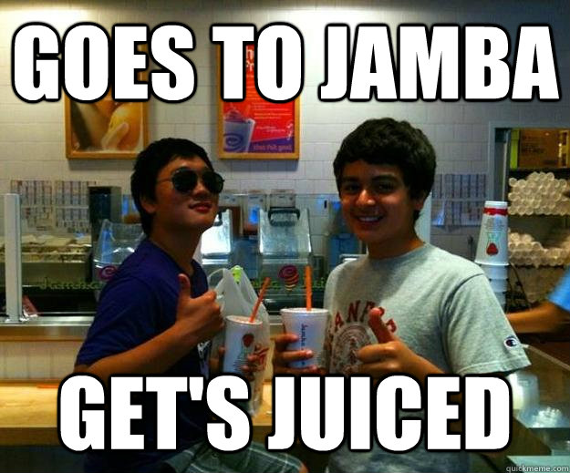 Goes to Jamba Get's Juiced - Goes to Jamba Get's Juiced  Mad Max