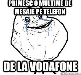 Primesc o multime de mesaje pe telefon De la Vodafone