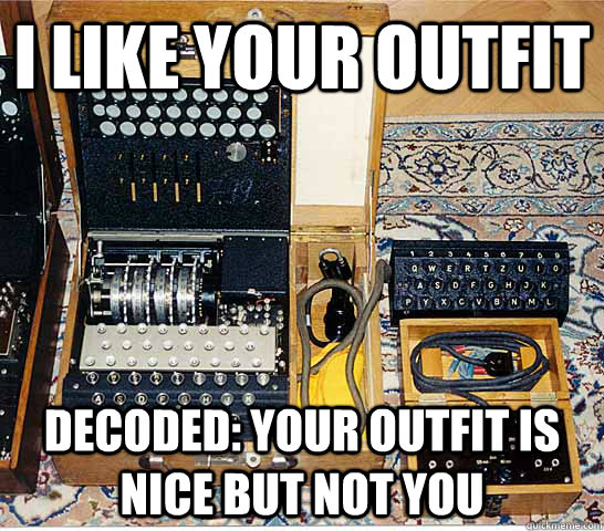 I like your outfit Decoded: Your outfit is nice but not you