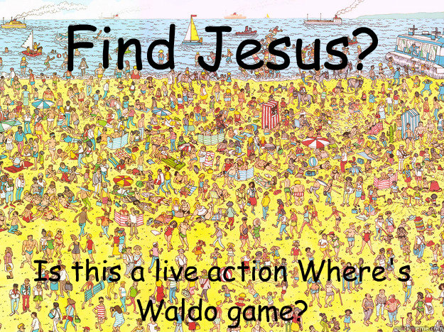 Find Jesus Is This A Live Action Where S Waldo Game
