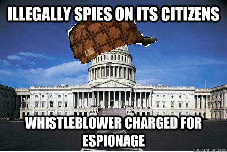 illegally spies on its citizens whistleblower charged for espionage