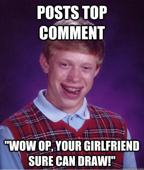 Posts top comment