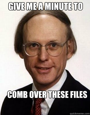 give me a minute to comb over these files