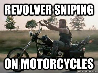 Revolver sniping On motorcycles - Revolver sniping On motorcycles  Misc