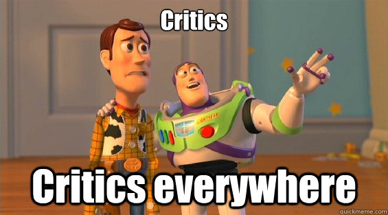 Critics Critics everywhere  lambdas everywhere