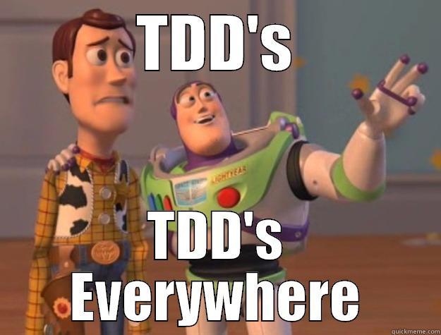 Resultado de imagem para TDD everywhere