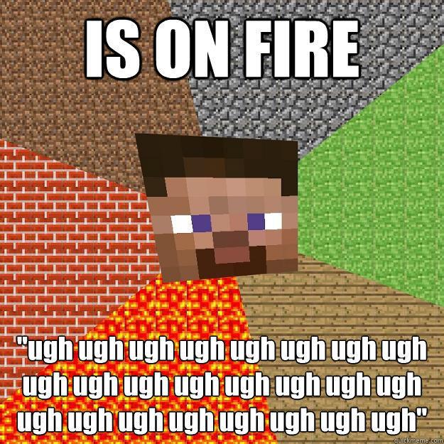 IS ON FIRE