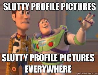 slutty profile pics