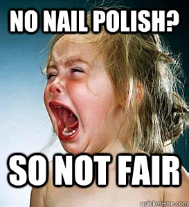 NO NAIL POLISH? SO NOT FAIR - NO NAIL POLISH? SO NOT FAIR  fml nursing school
