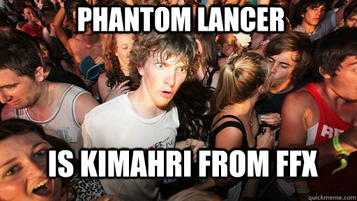 Phantom Lancer Is kimahri from FFX - Phantom Lancer Is kimahri from FFX  Sudden Clarity Clarence