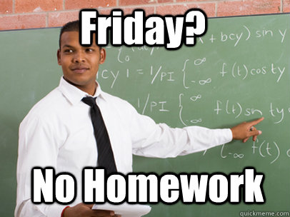 deped orders no homework Manila, philippines (1st update) - teachers are used to giving their students lots of homework for the weekend but with the new department of education (deped) memorandum, students will now have more free time to enjoy their weekends.