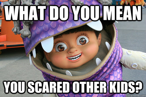 you scared meme - photo #22