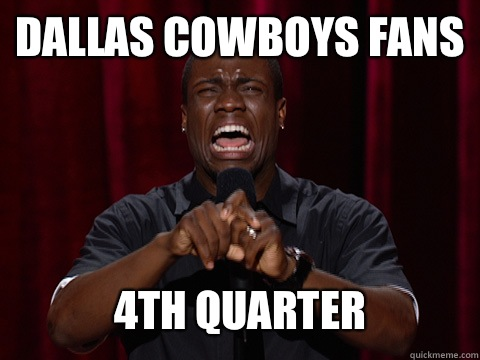 Dallas cowboys fans be like