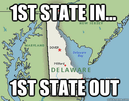1st state in... 1st state OUT