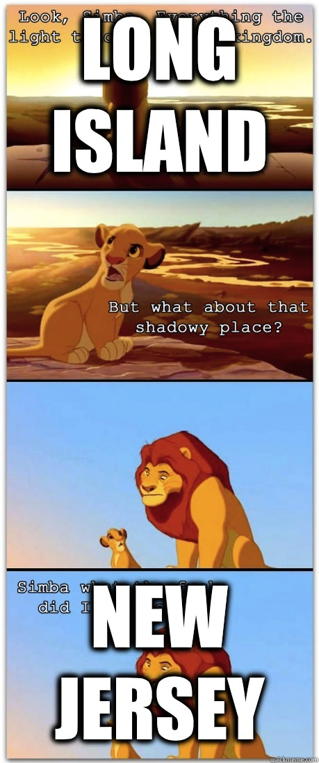 Long Island New Jersey - Long Island New Jersey  If the Lion King was rated R