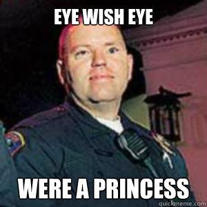 Eye Wish Eye Were a princess  Jay Cicinelli