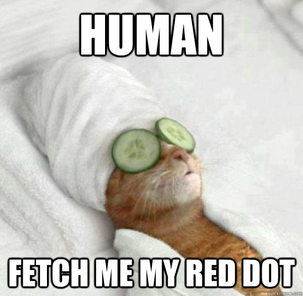 human fetch me my red dot - human fetch me my red dot  Misc