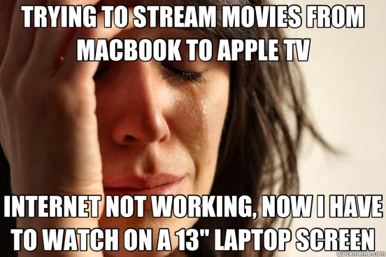 stream movie to apple tv from macbook