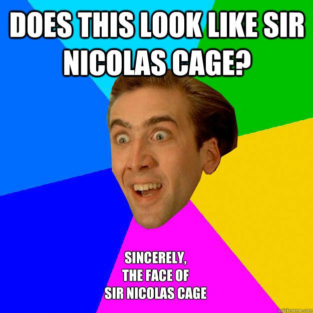 Nicolas Cage - Nicolas Cage Photo (26969846) - Fanpop