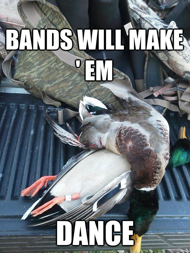 Bands Will Make ' Em Dance
