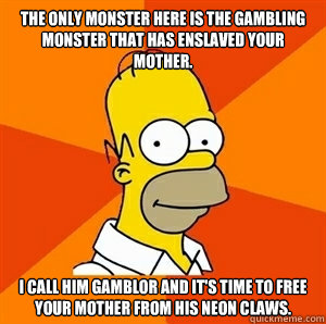 Gambling monster gamblor get free gold depositfile