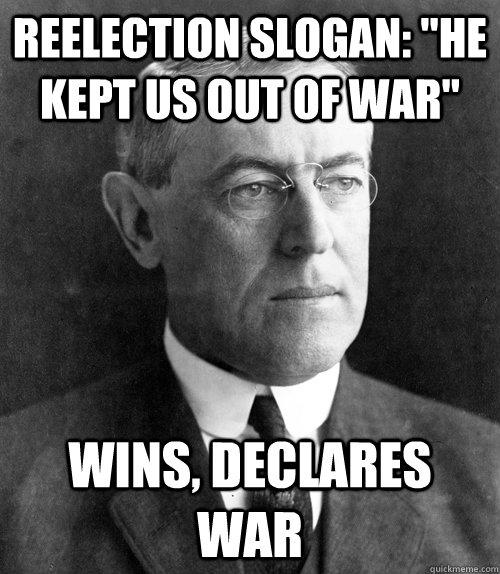 Reelection slogan:
