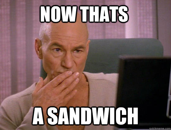 now thats a sandwich - now thats a sandwich  Gay Picard