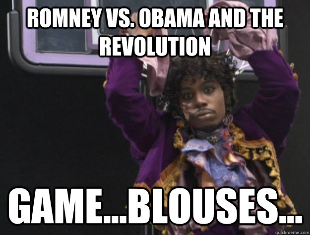 Romney Vs. Obama and the Revolution Game...Blouses... - Romney Vs. Obama and the Revolution Game...Blouses...  Game blouses