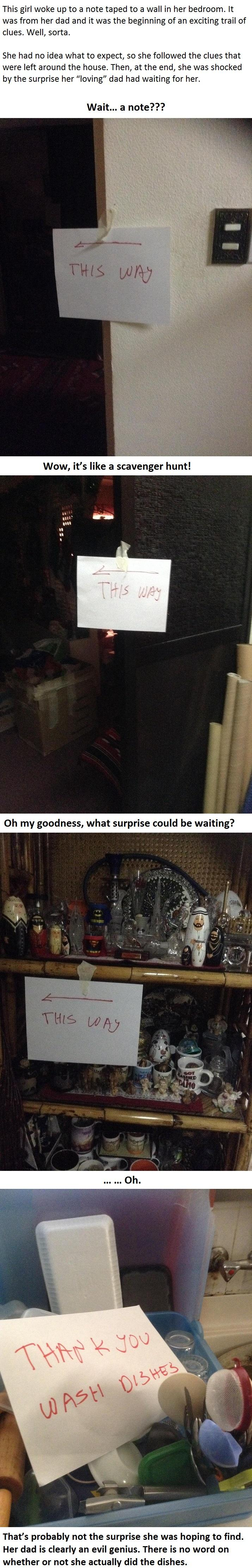 She Was Shocked By The Surprise Her Dad Had Waiting For Her... -   Misc