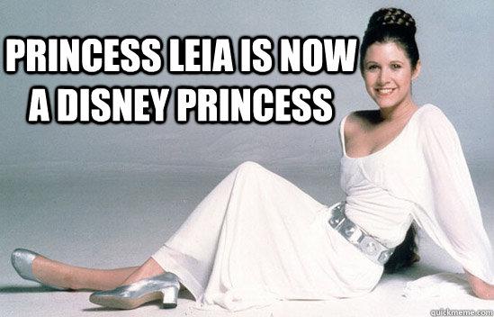 dd00ac3639bbb44a473392ee2b572b6bfe270fb7c502a145d95b9f3730e074b3 princess leia is now a disney princess disney princess leia