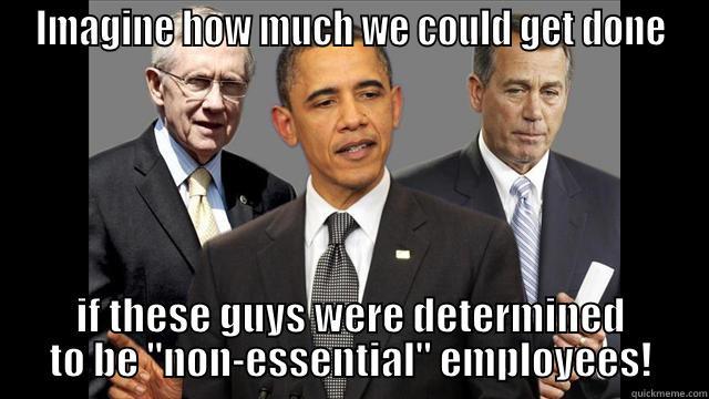 Non Essential Staff Meme