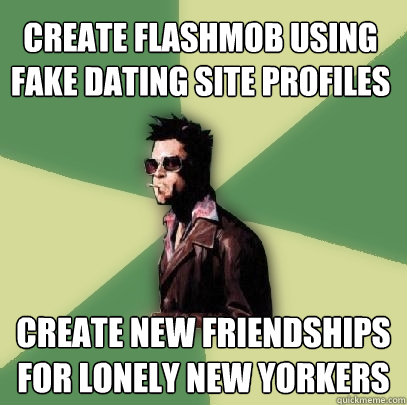 Funny fake dating sites