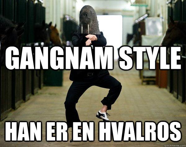 Gangnam Style han er en hvalros