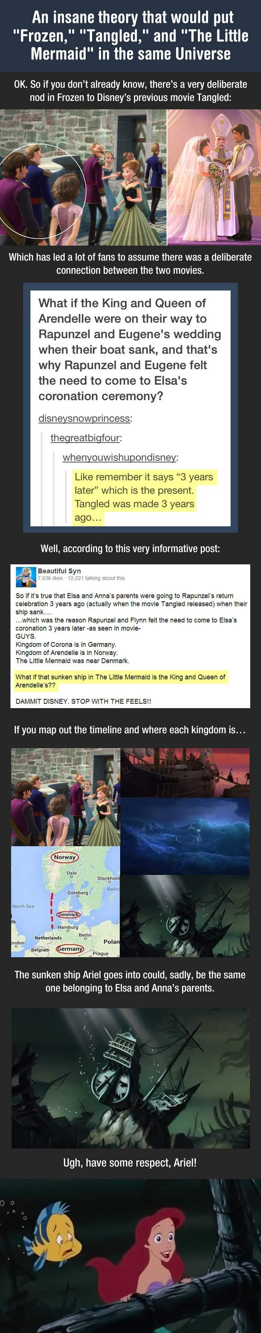Wow, Disney Is Very Clever. This Is A Huge Plot Twist... -   Misc