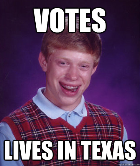 Votes Lives in Texas - Votes Lives in Texas  Misc