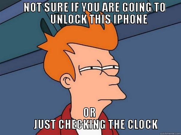 Not sure if you are going to unlock this phone