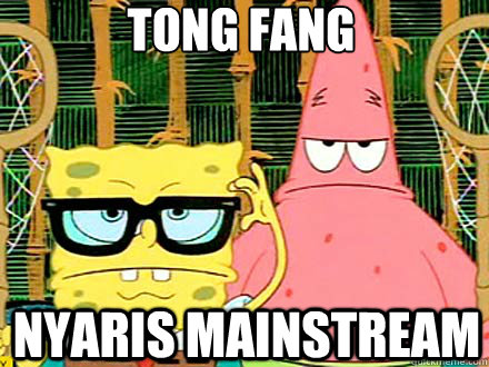tong fang nyaris mainstream