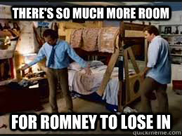 There's so much more room For Romney to lose in