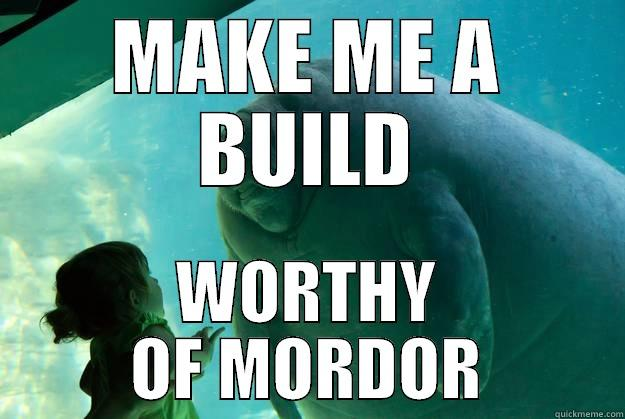 Oh Overlord Manatee You seem so sinister in your tank - Misc ...