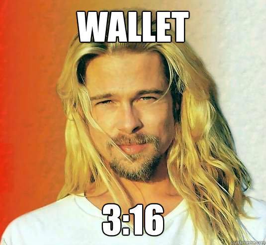 WALLET 3:16